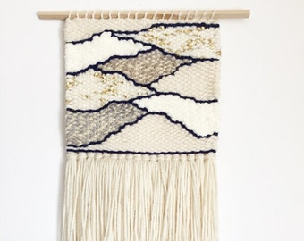 weaving, woven wall hanging, neutral wall hanging, wall weaving, bohemian tapestries, woven wall, yarn wall hanging, woven wall art, macrame
