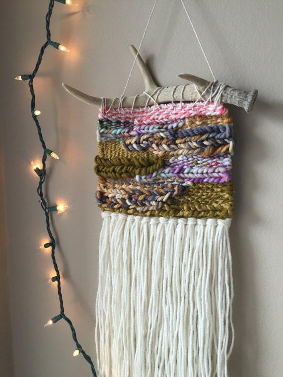 woven wall hanging bohemian tapestries weaving wall   Etsy