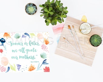 Download Free Styled Stock Photography | Watercolor, Acrylic Paint Brushes, Succulents, Wood, Gold Cup on White Desktop | Product Mockup | Digital Image PSD Template