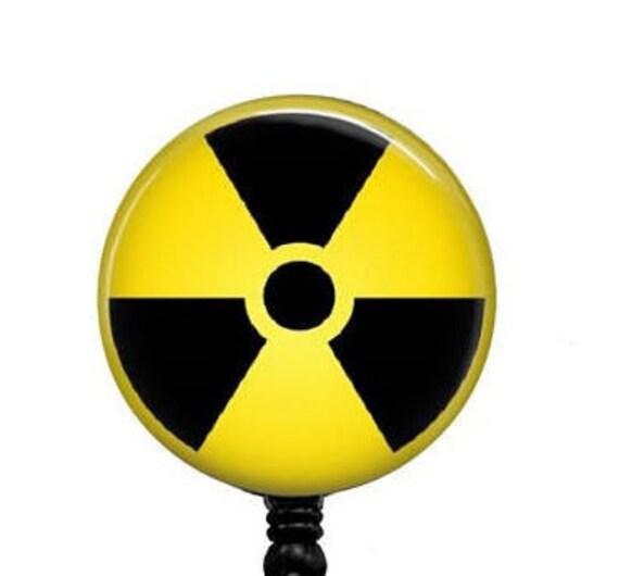 Radiology Symbol Badge Reelsradiation Badges Holderunique Id Etsy