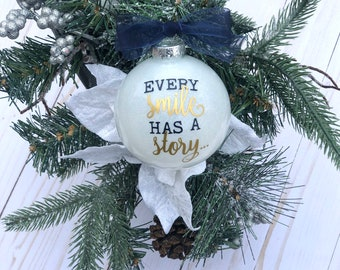 Cleft Strong Christmas Ornament