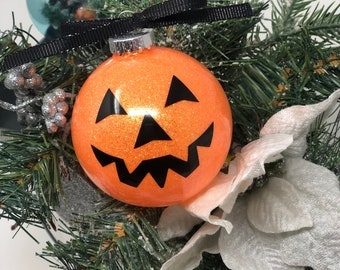 Pumpkin Halloween/Christmas Ornament
