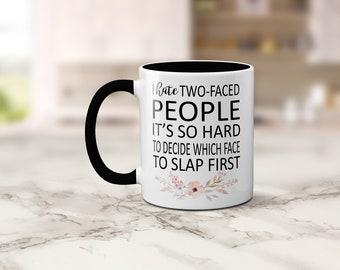 Two-Faced Humor Mug