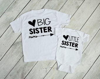 Big Sister, Little Sister Matching shirts