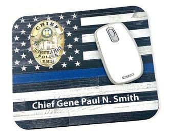 Personalized Law Enforcement Mousepad