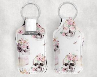 Hand Sanitizer Holder w/ Bottle and Key Ring