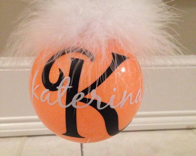 Personalized Monogrammed Christmas Ornament
