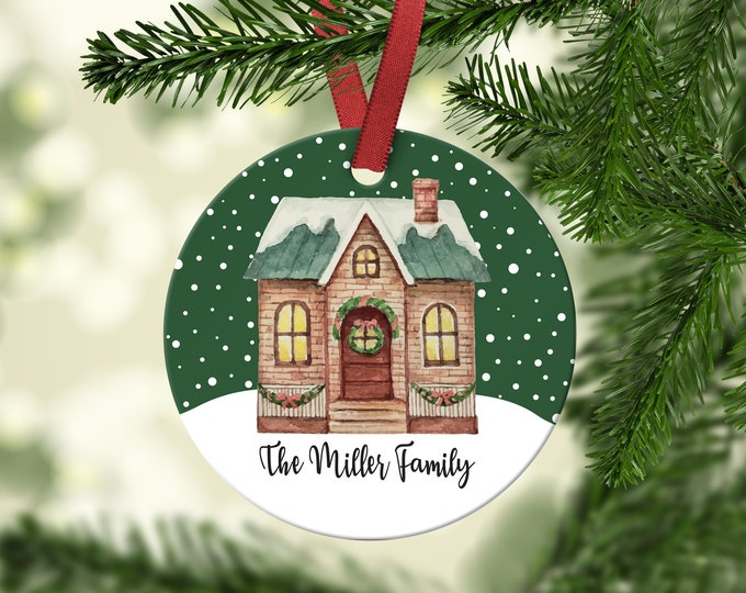 New Home, Family Christmas Ornament