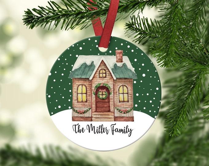 New Home, Family Christmas Ornament