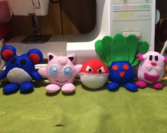 Pokemon Go Inspired Mini Pokestop Plushes