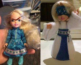 Customized Elsa Doll: Snow Queen Reborn