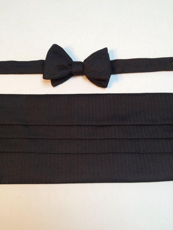 Carrot & Gibbs Cummerbund and Bow Tie, Pure Italia