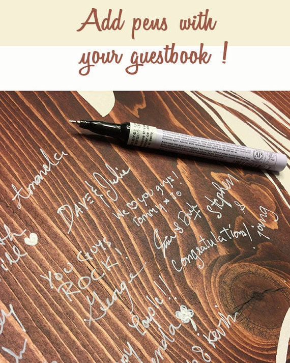 Wedding Pens Wood Guestbook Markers Archival Pens Pen Wedding Guest Book Pen White Pen Pens For Wood Gold Silver Markers Paint Pen
