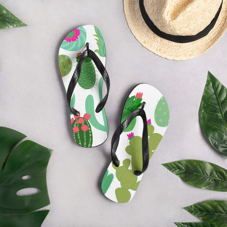 Cactus Flip-Flops