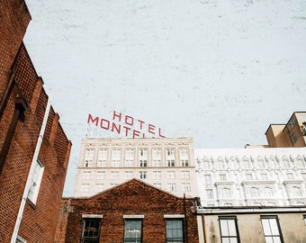 DIGITAL New Orleans Photography, Hotel Monteleone, French Quarter Print, Big Easy Photo, New Orleans Art, Beads Picture, Downloadable Photo