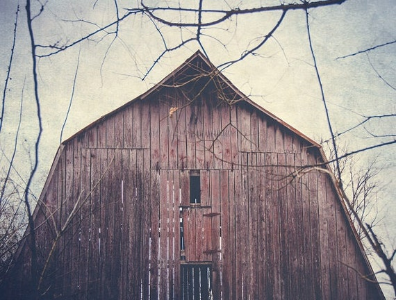 Shabby Chic Home country Home Decor Old Farm Country Rustic Wall Art Photo Countryside wood Barns Antique Photo Old Barn Photography