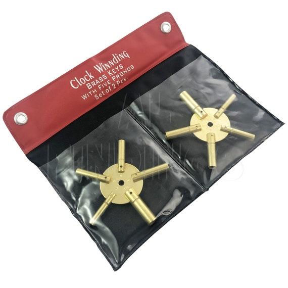 2pcs Clock Keys Clock Winders Antique Clock Winding Key