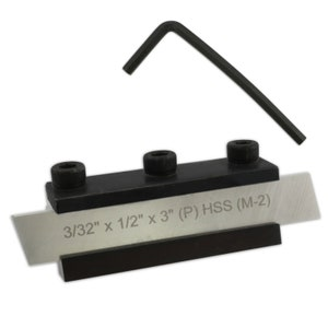 """3//32 x 1//2 x 4/"""" M0137 M-2 Proops Parting Tool and Holder HSS"""