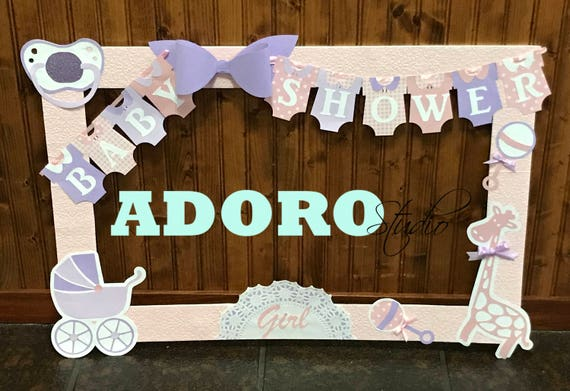 Baby Shower Photo Booth Frame Custom Photo Booth Frame Etsy