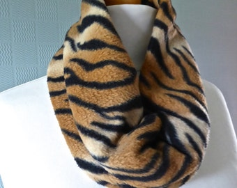Tiger Snood Cowl