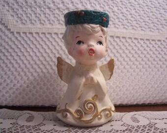 Little Boy Angel Votive Candle Holder Figurine