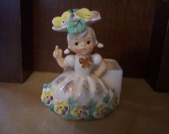 Napco Flower of the Month For May Figurine/Planter