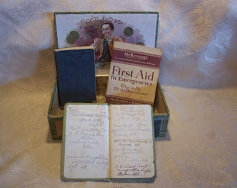 Assorted Small Vintage Books 1800's