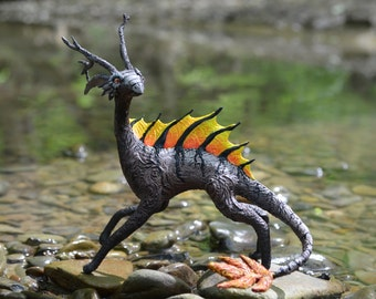 Hekil sculpture fantasy animal