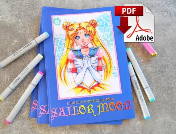 Sailor Moon Coloring Book PDF Version
