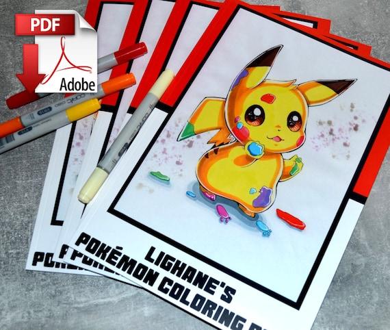770+ Coloring Book Pokemon Pdf HD