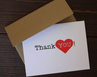 Thank You Card - Cards with Heart
