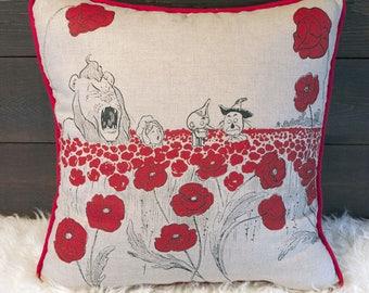 Poppy Field - Pillow