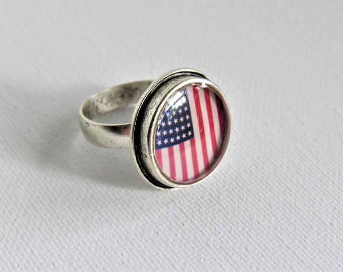 Featured listing image: American Flag Ring