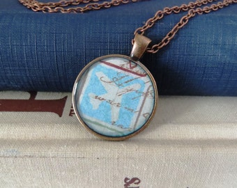 Travel / Map Necklaces