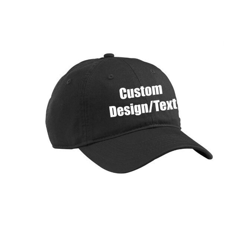 c44d1d0f Custom Dad Hat / Custom cap / customizable baseball cap /   Etsy