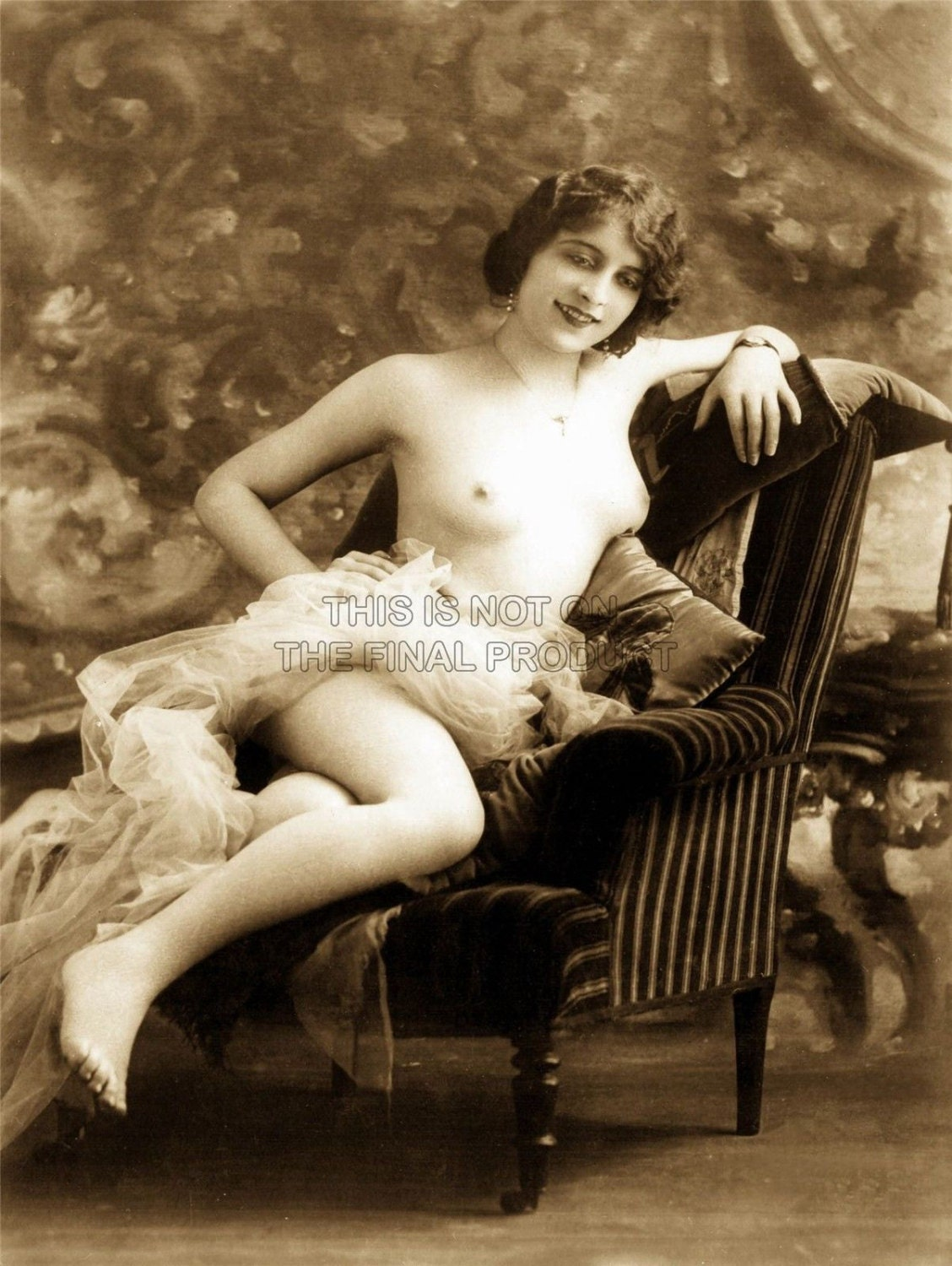 Vintage french erotic postcards gay