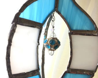 Stunning Stained Glass Ornament