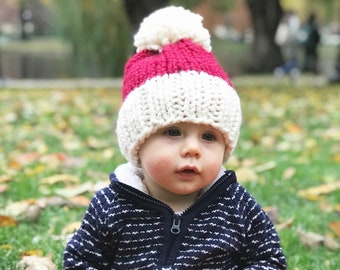 81fec12bf Christmas knit hat