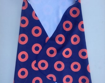 90d2b190652 Phish Inspired Hooded Baby Towel w  Fishman Donut Pattern
