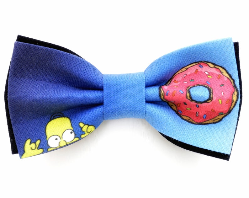 Simpsons bow tie Mens bow ties Wedding bow ties Donut bow tie The best bow tie Homer bow tie Kids bow tie Womens bow tie