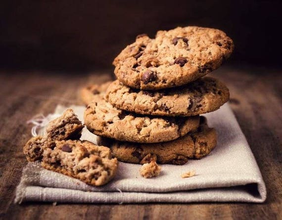 1 Dozen Chocolate Chips Cookies Ultimate Chocolate Chips Etsy