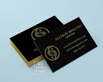 Law business cards etsy golden business card lawyer business card design black gold business card printable attorney gold business cards law office calling card colourmoves