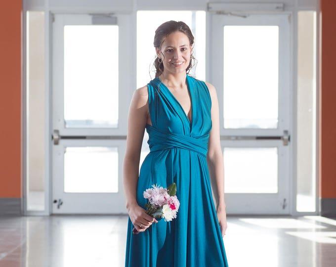 Mallard Long Convertible Dress / Custom size, length / Maternity & Plus size included