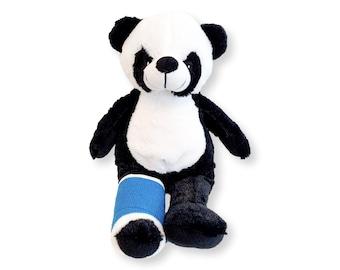 Broken Leg Gift | Get Well | Get Well Gift | Hospital Gift | Speedy Recovery Gift | Broken Leg Bear | Injury Bear | Kids Get Well Bear