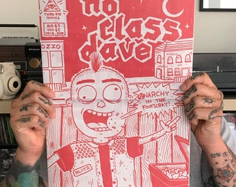No Class Dave Comic