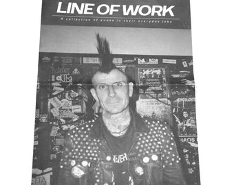 Line of Work - A collection of punks in their everyday job (photo zine)