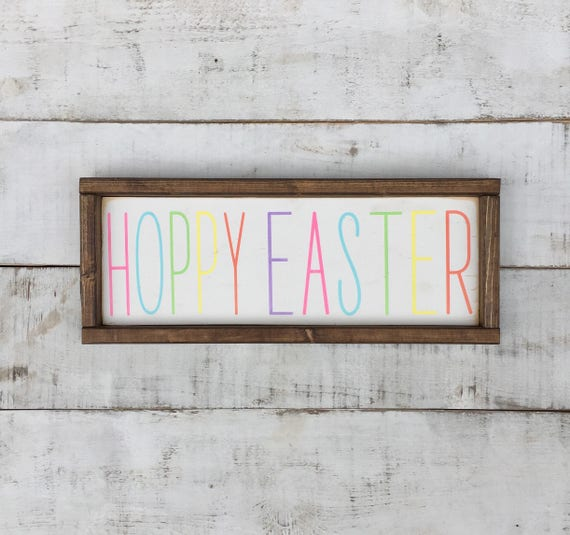 Easter Sign Easter Wood Signs Signs Springhome Decor Etsy Stunning Home Decor Signs Shabby Chic