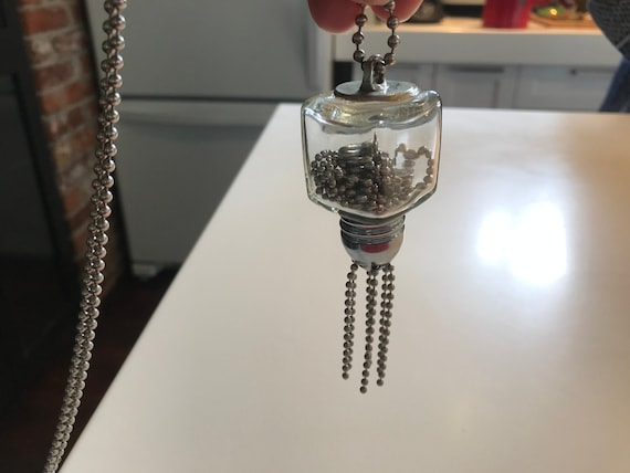 Quirky salt or pepper shaker necklace