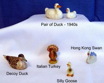 Duck, Duck, Swan, Goose, Turkey - Miniatures