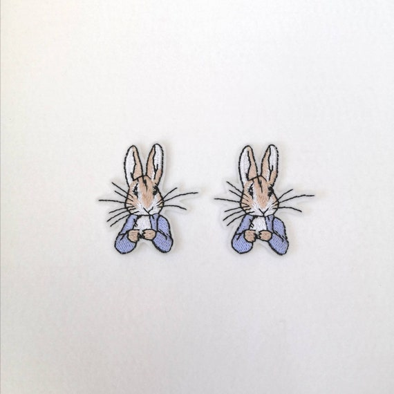 patch jemima from peter rabbit MEDIUM SIZE motif transfer.
